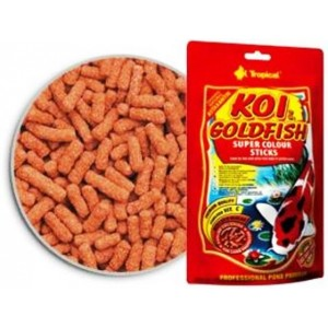 Koi & Goldfish Super Colour Sticks 21L