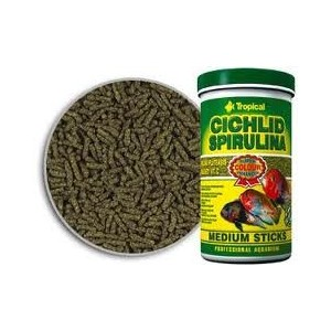 Cichlid Spirulina large sticks 1200 ml