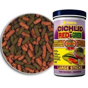 Cichlid Red&Green Large Sticks 1200ml