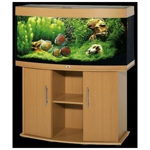 aquarium avec meuble en bois. Black Bedroom Furniture Sets. Home Design Ideas