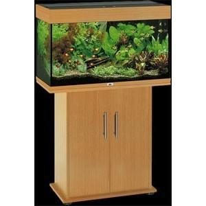 Aquarium RIO 125 avec Meuble et Equipement Couleur Noir ou Hetre ou Bois Brun  Couleur - Noir, Couleur - Hetre, Couleur - Weng