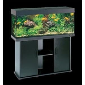 Aquarium RIO 240 avec Meuble et Equipement Couleur Noir ou Hetre ou Bois Brun  Couleur - Noir, Couleur - Hetre, Couleur - Weng