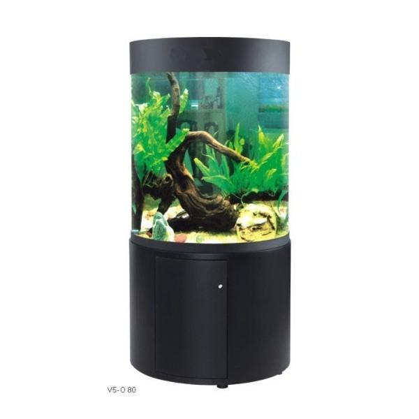Aquarium rond avec meuble oceanson v5 o81em aquarium for Filtre aquarium rond